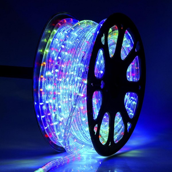 Led rope light multi colour rope lights decorative lights led rope light multi colour aloadofball Images
